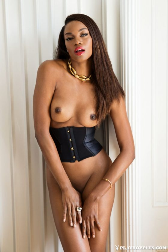 Eugena Washington Nude In All That Glitters Playboy Model Photos